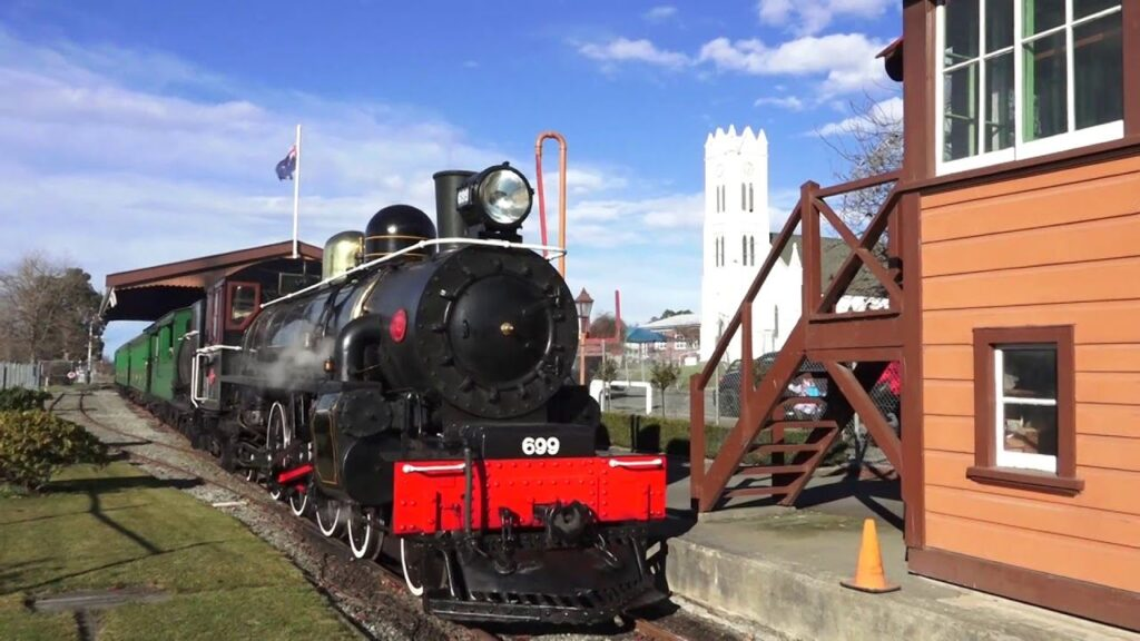 Pleasant point railway, Timaru