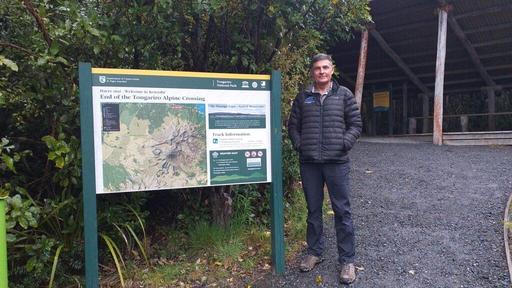 Stewart Barclay, Adrift Tongariro Guiding