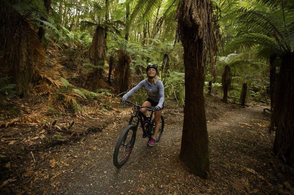 Mountain biking in Taupo