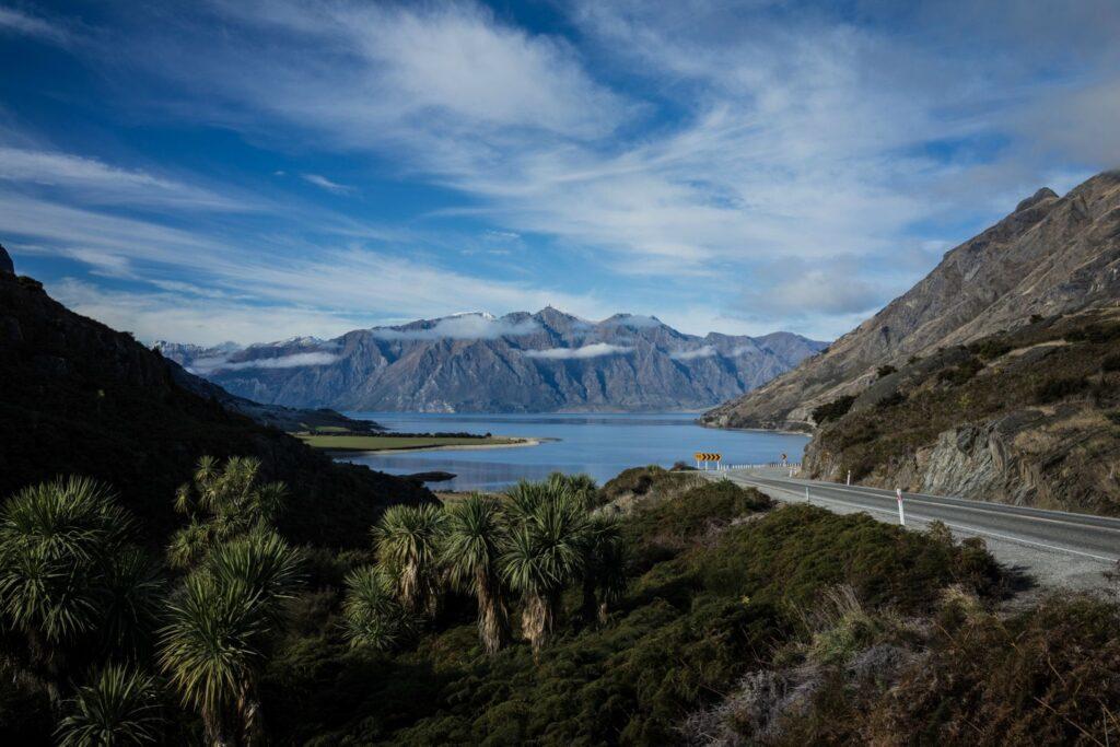Haast highway New Zealand