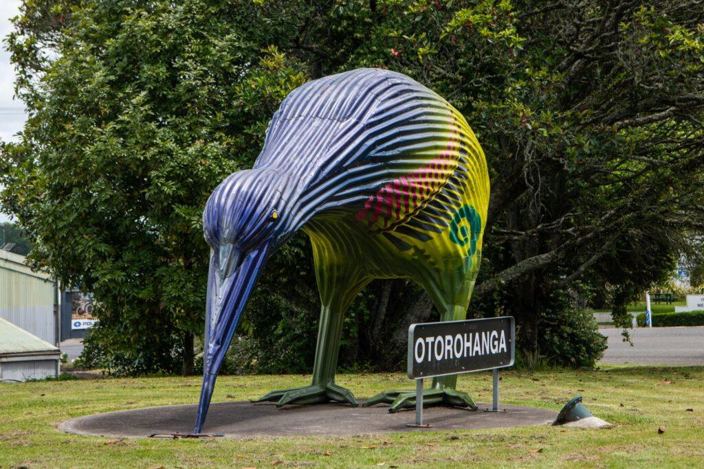 Otorohanga-corrugated-iron-kiwi, Waikato