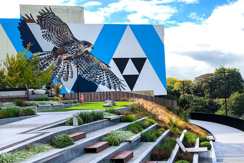 Boon Mural, Hamilton, New Zealand