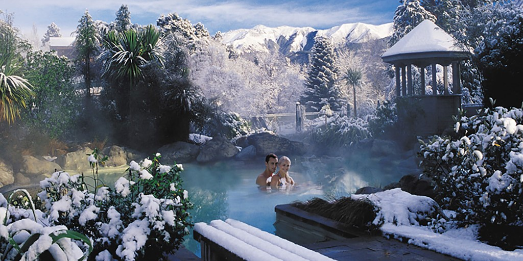 Hanmer Springs thermal pools, Canterbury