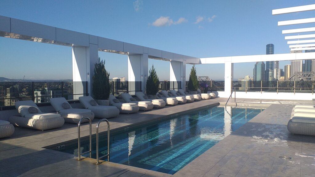 Hotel X rooftop pool